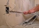 Монтаж новой электропроводки и замена старой в домах