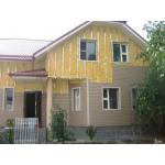 Наружное утепление деревянного дома сайдингом
