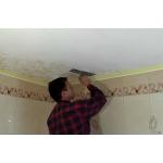 Потолок для ванной комнаты, окрашивание потолка