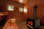 Строим красивую баню из кирпича